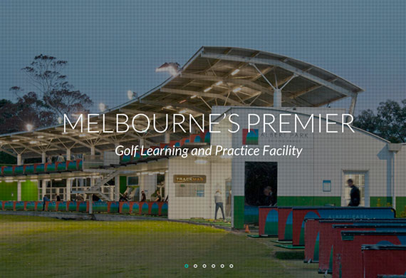 Albert Park Driving Range Website