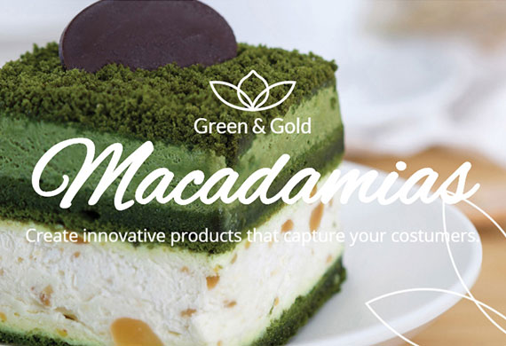 Green & Gold Macadamias - Website